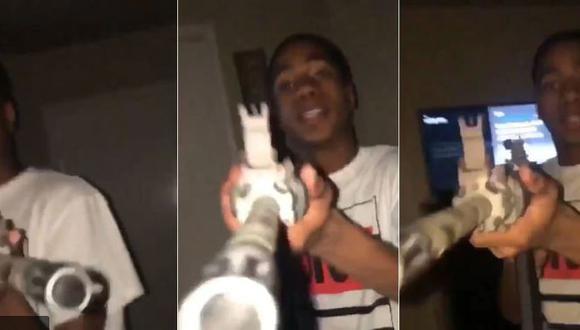 El atacante fue identificado como Javon Martin (17), quien mató a su enamorada de un disparo en Estados Unidos. (Instagram)