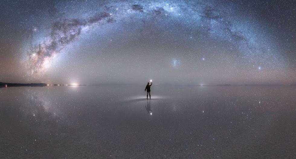¡Espectacular! Peruano es reconocido por la NASA por su sorprendente fotografía de la Vía Láctea. (Jheison Huerta)