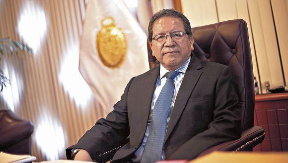Pablo Sánchez. Fiscal de la Nación. (Peru21)
