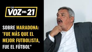 """Alberto Beingolea sobre Maradona """"fue más que el mejor futbolista, fue el fútbol"""""""