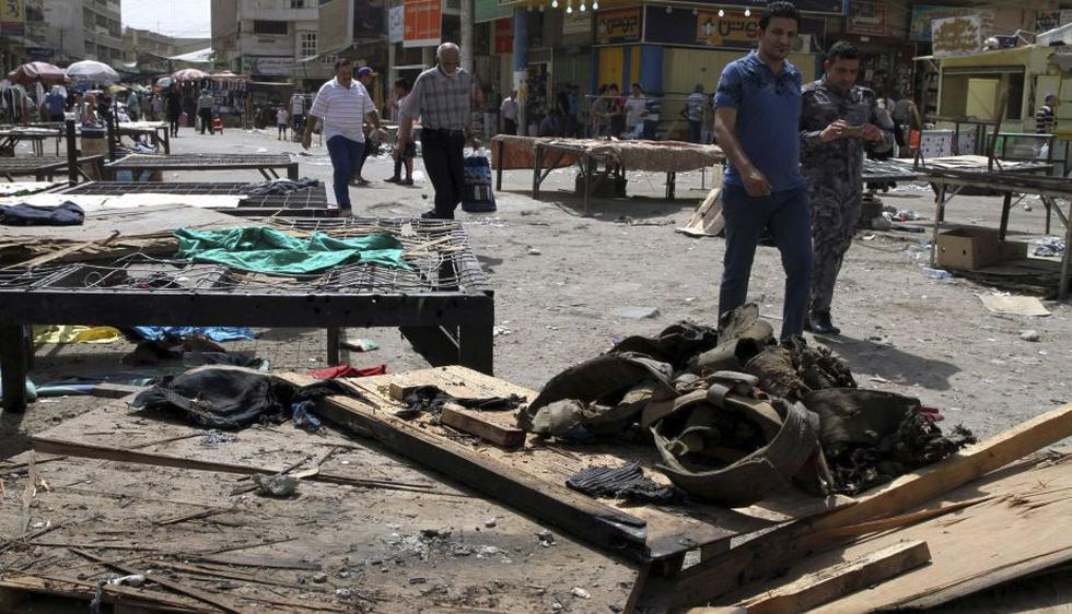 Al menos 25 muertos y 120 heridos dejó dos atentados en Bagdad. (EFE)