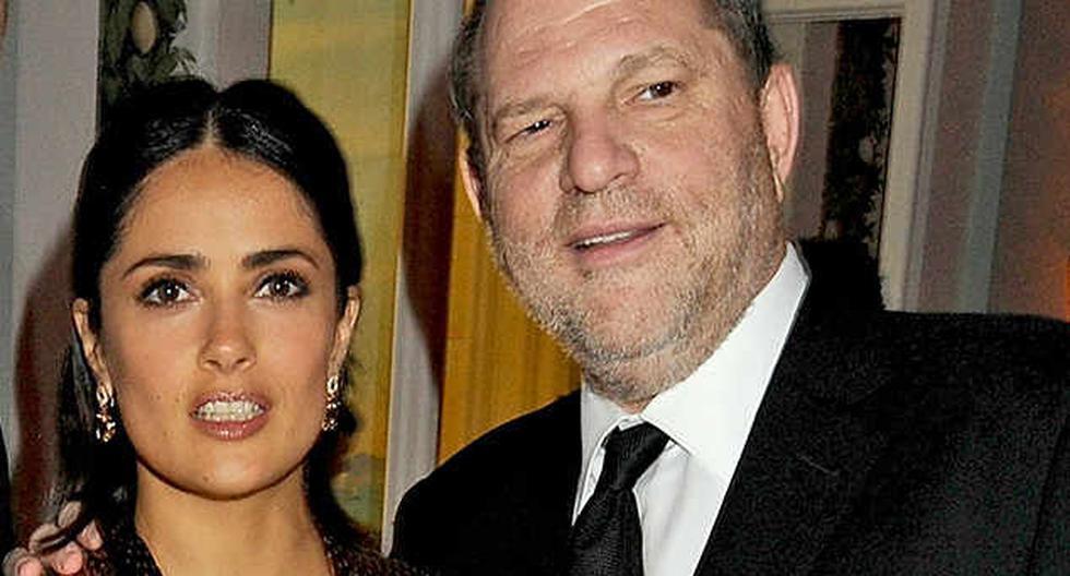 La actriz mexicana Salma Hayek sufrió acoso del productor de Hollywood  Harvey Weinstein.