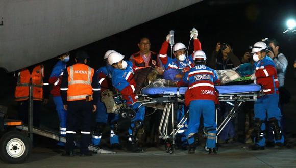 Los pacientes fueron traídos desde Arequipa para ser atendidos en Lima luego de ser afectados por ingerir alimentos contaminados en un velorio en Ayacucho. (Andina)