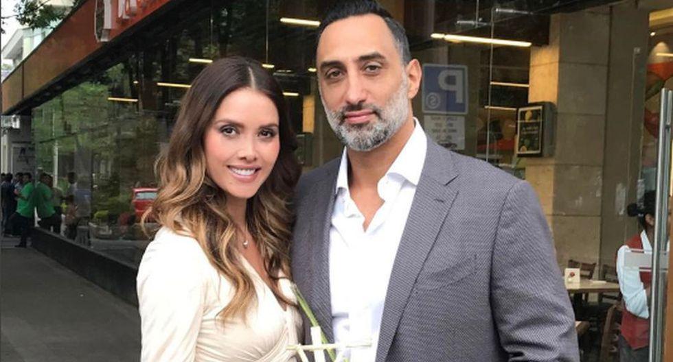 Marlene Favela contó que ya tiene tres meses de gestación, fruto de su relación con el empresario George Seely. (Instagram)