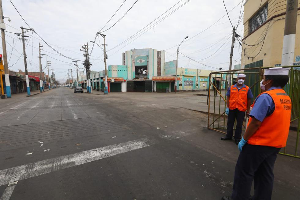 Se nota presencia de personal de las Fuerzas Armadas en sectores como Loreto. (Foto: Gonzalo Córdova/GEC)