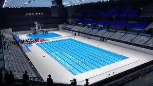 Inaugurado el centro acuático que se usará en Tokio 2020