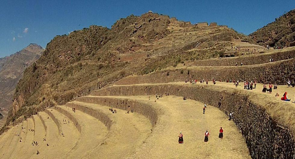 Parque Arqueológico de Pisac estará cerrado hasta que se concluyan las labores de rehabilitación de las vías de acceso. (Andina)