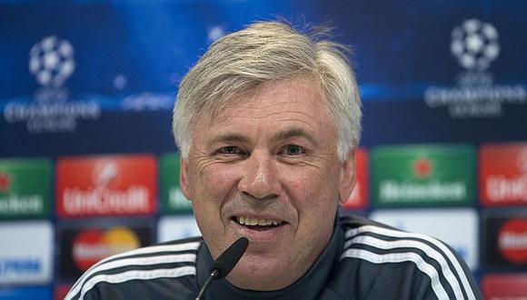 Carlo Ancelotti aseguró que pese a los resultados no cambiará el sistema de juego del Real Madrid. (AP)