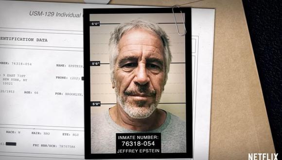 Jeffrey Epstein fue detenido en julio en 2019 (Foto: Netflix)