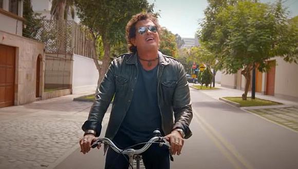 El nuevo videoclip de Carlos Vives exhibe calles de la capital debido al contrato firmado con Prom-Perú. (Captura: YouTube)