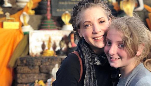 Edith González junto a su hija Constanza. (Foto: Instagram Edith González)