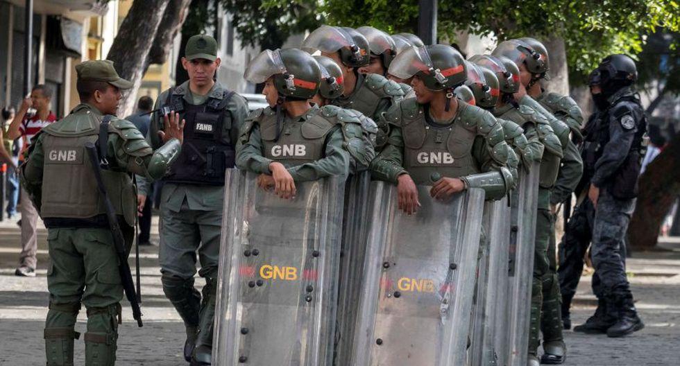 Venezuela: Fuerte presencia policial en Asamblea Nacional por alerta de bomba. (EFE)