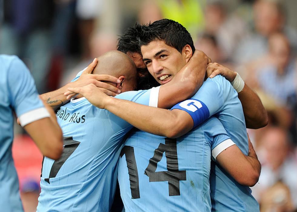 Federico Valverde, Nicolás Lodeiro y Gastón Ramírez quedaron fuera de la selección uruguaya para el Mundial. (GETTY IMAGES)