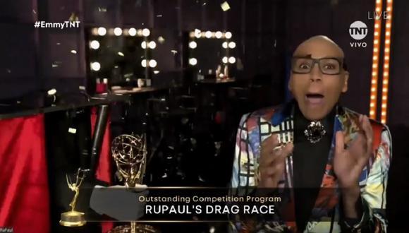 Programa liderado por RuPaul volvió a ganar en los Emmy 2020. (Foto: Captura TNT)