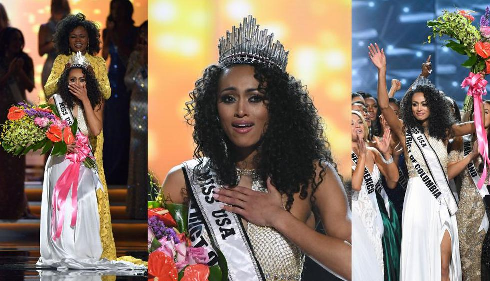 Estados Unidos: Esta científica del gobierno se coronó Miss USA. (AFP)