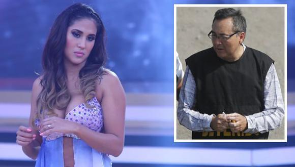 La modelo reiteró que su esposo, el futbolista Rodrigo Cuba Piedra, no ha recibido dinero ilícito.
