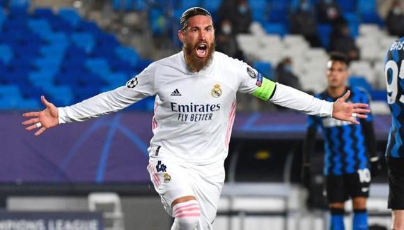 Sergio Ramos regresar a Real Madrid para buscar clasificación (Foto: AFP)