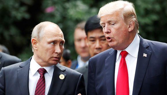 Vladimir Putin pide al gobierno de Donald Trump regrese al pacto alcanzado tras la Guerra Fría, de lo contrario también desarrollará tecnología en misiles. (Foto: EFE)