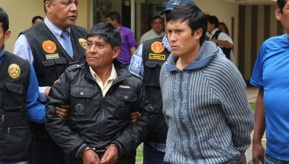 Parimango Rojas (Izq.) deberá pagara una caución de S/.10 mil para salir del penal El Milagro. (USI)