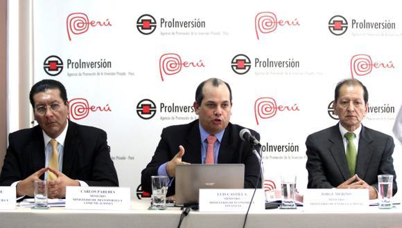 BALANCE. Ministros aseguran que panorama para la economía nacional el próximo año será positivo. (Andina)