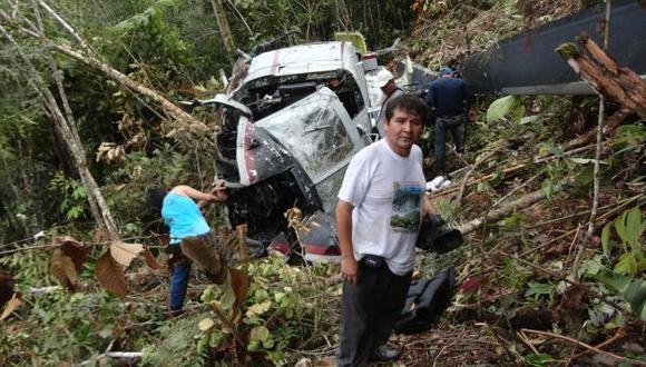 El hallazgo del helicóptero en el mismo lugar de la emboscada, también trae una ola de críticas. (Sebastián Castañeda/USI)