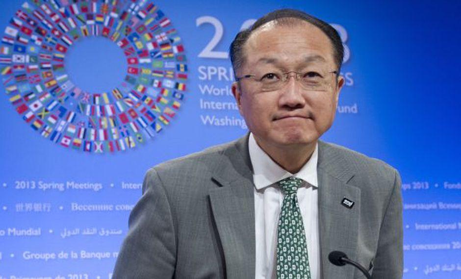 SUGERENCIA. Yong Kim recomienda compartir la prosperidad. (AFP)