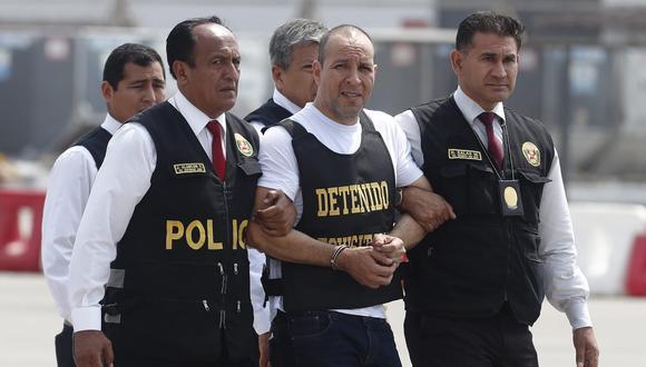 Adolfo Bazán fue detenido en Tacna. Llevaba tres meses huyendo de la justicia. (Foto: César Campos/El Comercio)