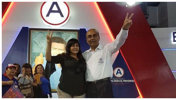 La Flamante funcionaria Tania Baca milita APP, al igual que el alcalde de Trujillo, Daniel Marcelo. (Foto: GEC)
