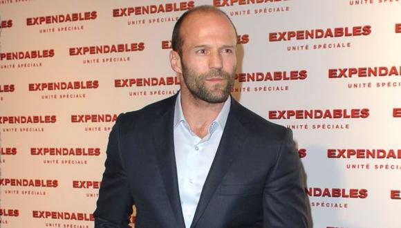 Filma 'Los indestructibles'. (AFP)