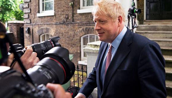 En la primera votación celebrada la semana pasada, el exministro británico de Exteriores Boris Johnson fue el que más apoyos recibió. (Foto: EFE)