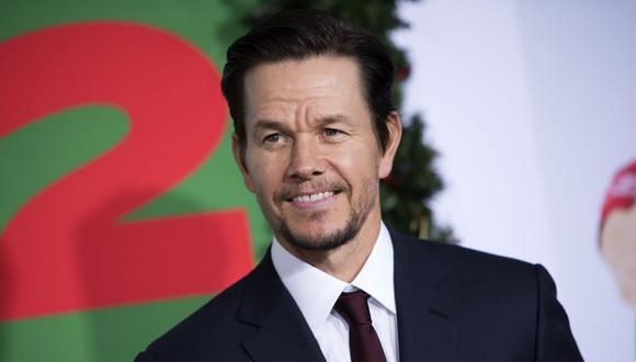 """""""Uncharted"""": Mark Wahlberg se muestra con el bigote de Sully. (Foto: AFP)"""