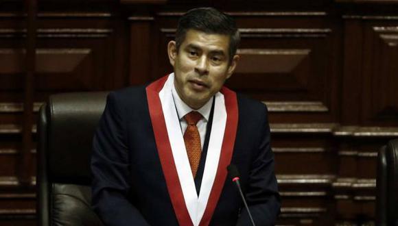 Presidente del Congreso saluda actitud del gobierno (Renzo Salazar)
