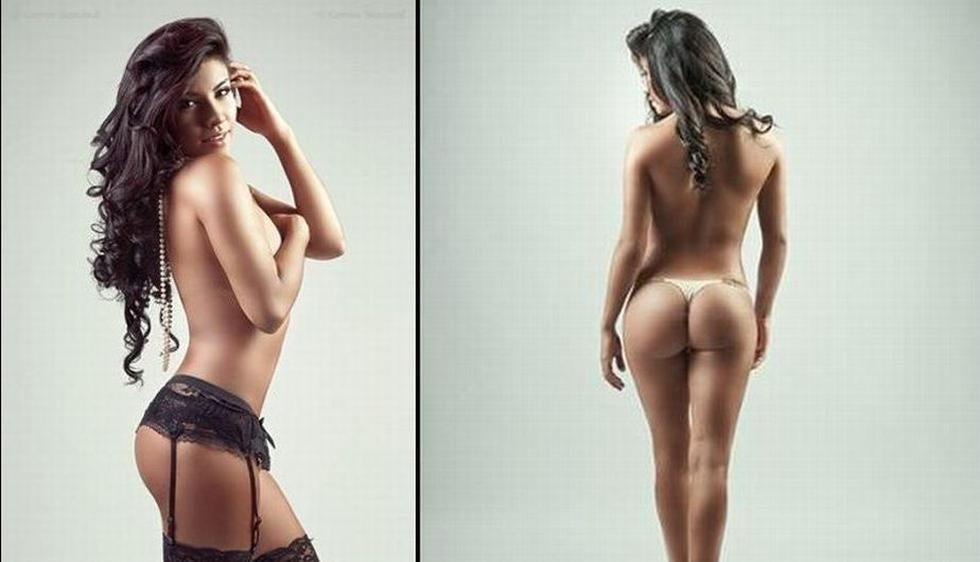 Diana Sánchez protagonizó sensual sesión fotográfica para Correo Semanal. (Correo Semanal)