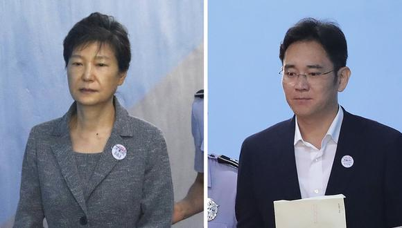 El Tribunal dictaminó que deberían haberse emitido sentencias separadas sobre las denuncias de soborno y abuso de poder por las que fue condenada. (Fotos: AFP)