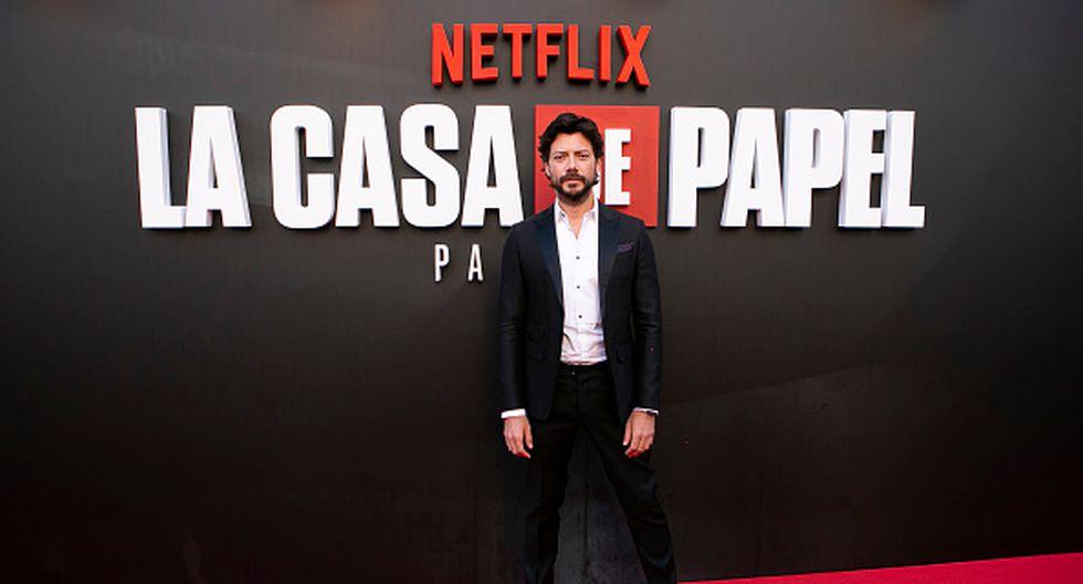 MADRID, SPAIN - JULY 11: Alvaro Morte attends the red carpet of 'La Casa De Papel' 3rd Season by Netflix on July 11, 2019 in Madrid, Spain. (Photo by Pablo Cuadra/Getty Images)