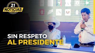 Guido Bellido no respeta al presidente Pedro Castillo