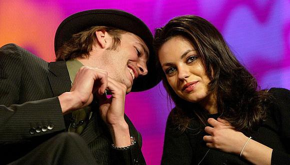 Ashton Kutcher y Mila Kunis se habrían comprometido