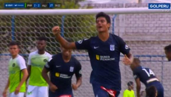Carlos Beltrán puso el 2-2 final ante Pirata FC. (Captura: Gol Perú)