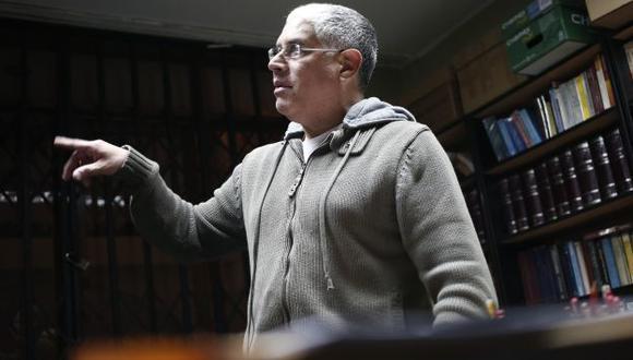 """NO PASA NADA. El legislador Díaz Dios señaló que """"López Meneses se pasea libremente por las calles"""". (César Fajardo)"""