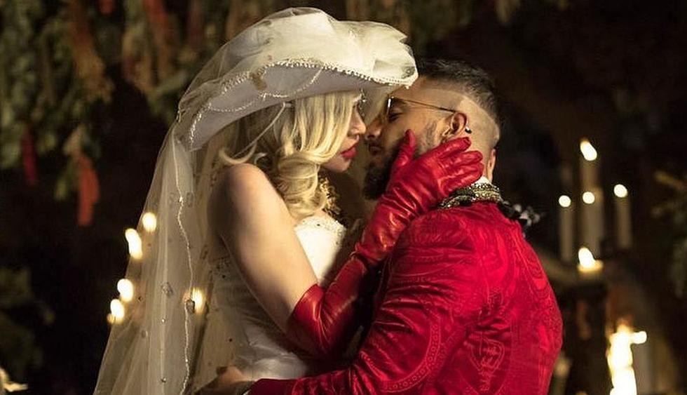 """Maluma y Madonna estrenaron el videoclip de su nuevo tema """"Medellín"""". (Foto: Captura de video)"""
