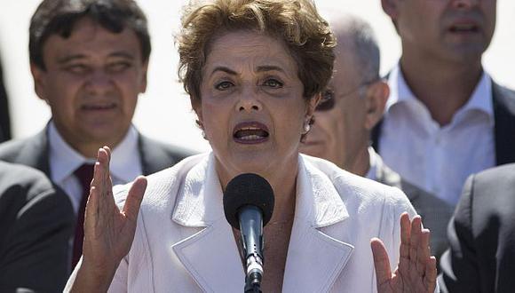 Brasil: Dilma Rousseff afirmó que polémico audio de ministro de Temer constata 'golpe'. (AP)