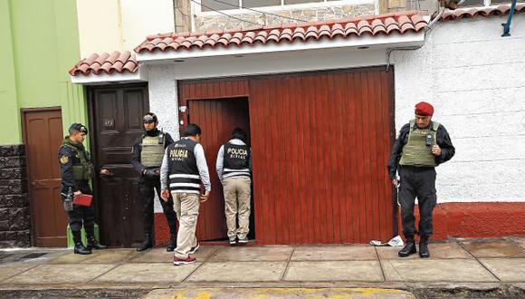 Fiscales allanaron la sede del club Cantolao. (GEC)
