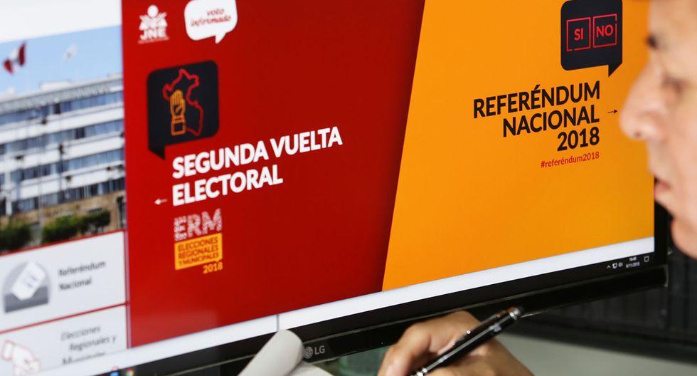 """En la plataforma """"Voto informado"""" busca todos los candidatos por los cuales podrás votar este 26 de enero luego de poner tu número de DNI. (Foto: JNE)"""