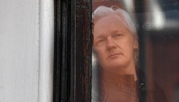 Julian Assange, fundador de Wikileaks, fue detenido en Londres. (Foto: AFP)