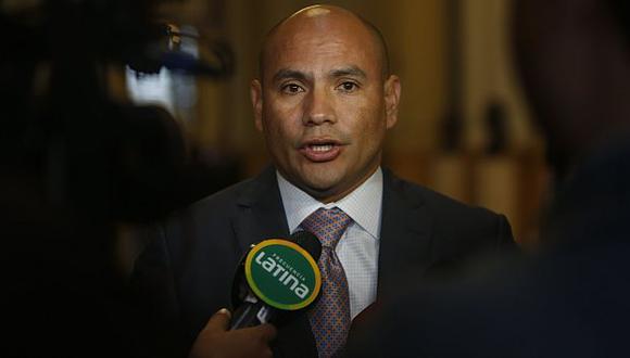 Joaquín Ramírez desestimó denuncia en su contra por lavado de activos. (Rafael Cornejo)