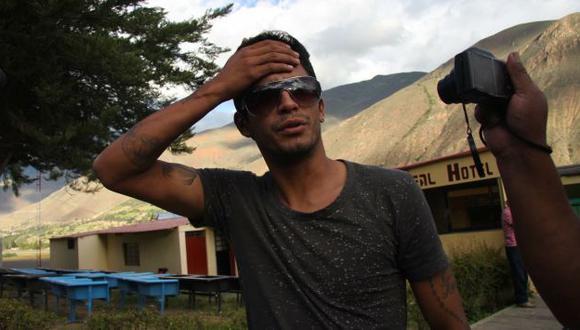 DE REGRESO. Manco  llegó ayer por la tarde a Huánuco. (Teófilo Torres)