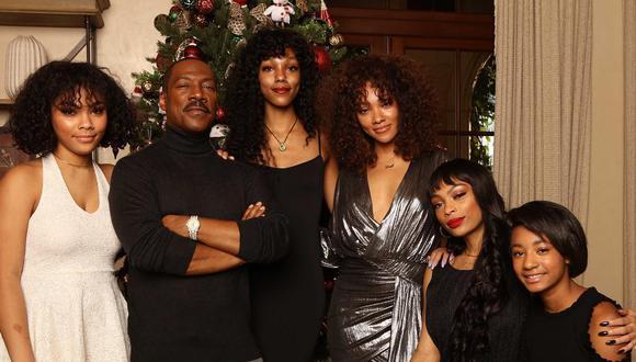 Eddie Murphy se reunió con todos sus familiares para celebrar Navidad. Las divertidas imágenes quedaron inmortalizada en Instagram.  (Foto: Instagram)