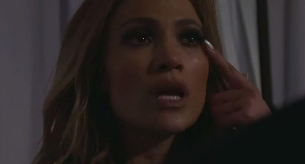 Jennifer Lopez muestra cómo quedó su rostro tras sufrir un golpe en pleno show. (Foto: Captura de video)