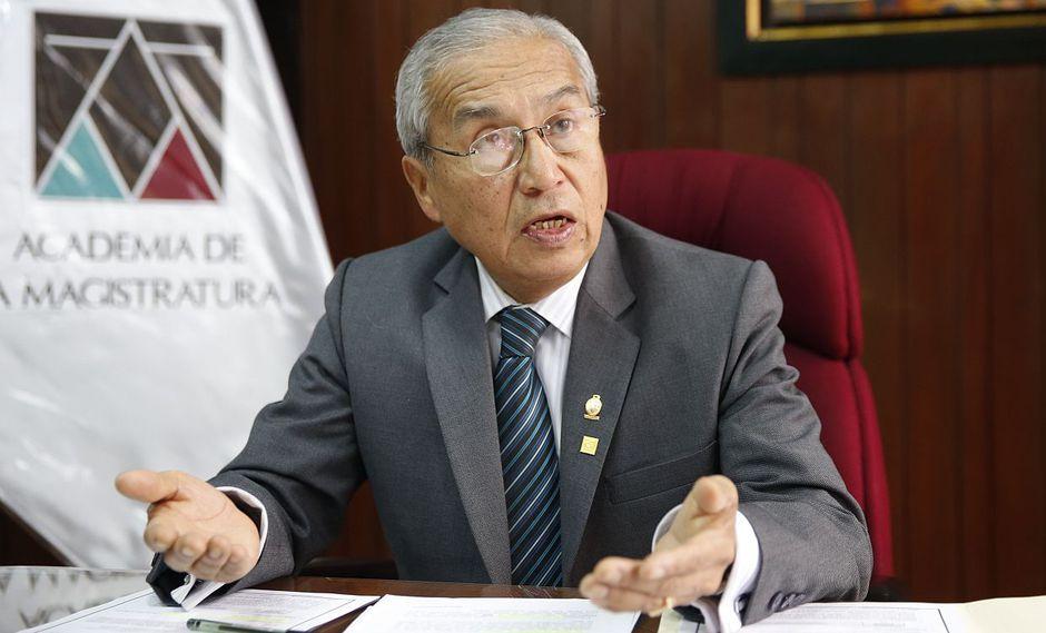 El fiscal de la Nación, Pedro Chávarry, dijo que acatará cualquier decisión que pueda tomar el Congreso sobre su designación. (USI)