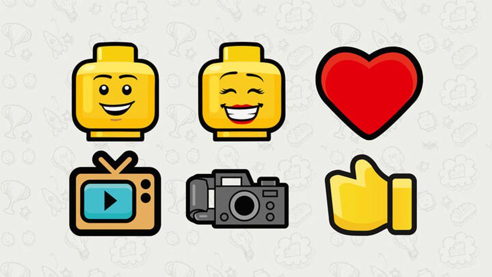 La red social incluye emojis de los personajes de LEGO. (LEGO)